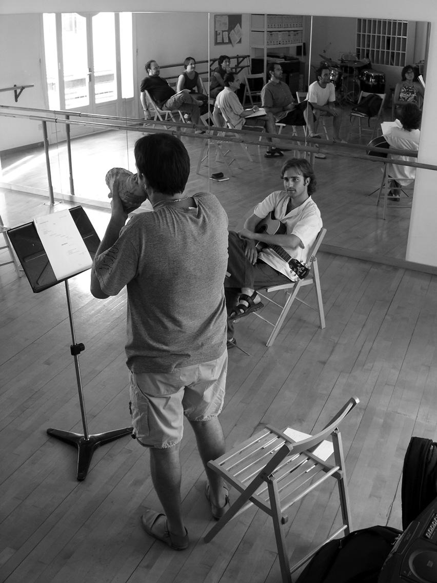 Assaig recital 2004